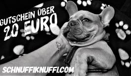 Geschenkgutschein Schnuffiknuffi.com über 20 Euro