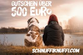 Geschenkgutschein Schnuffiknuffi.com über 500 Euro