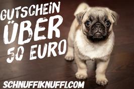Geschenkgutschein Schnuffiknuffi.com über 50 Euro