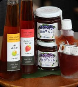 飲むいちご酢、飲むウメ酢 巨峰ジャム×2 苺ジャム
