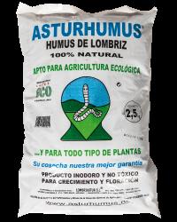 Humus de lombriz, fertilizante orgánico y ecológico