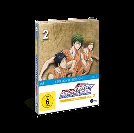Kuroko's Basketball 3 (Season 3) - Vol. 2 - Limited Steelcase Edition (mit exklusiven Extras)
