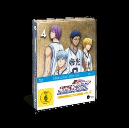 Kuroko's Basketball 3 (Season 3) - Vol. 4 - Limited Steelcase Edition (mit exklusiven Extras)