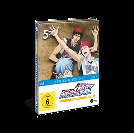 Kuroko's Basketball 3 (Season 3) - Vol. 5 - Limited Steelcase Edition (mit exklusiven Extras)