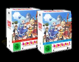 KonoSuba - Vol. 1 - Limited Edition (mit Sammelschuber und exklusiven Extras)