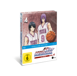 Kuroko's Basketball 2 (Season 2) - Vol. 4 - Limited Steelcase Edition (mit exklusiven Extras)