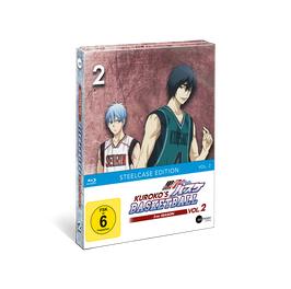 Kuroko's Basketball 2 (Season 2) - Vol. 2 - Limited Steelcase Edition (mit exklusiven Extras)