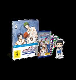 Kuroko's Basketball - Vol. 3 - Limited Steelcase Edition (mit PANINI-Sammelkarten und Acrylfigur)