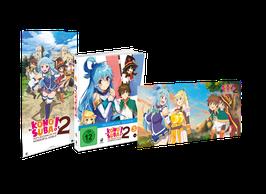KonoSuba 2 (2. Staffel) - Vol. 3 - Limited Mediabook Edition (mit Maxiposter u. Light Novel)