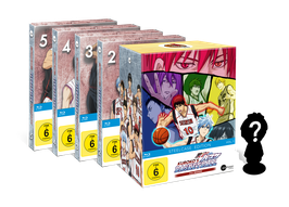 Kuroko's Basketball - Season 2 - Volume 1-5 (Vorbesteller-Angebot)