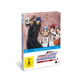 Kuroko's Basketball 2 (Season 2) - Vol. 3 - Limited Steelcase Edition (mit exklusiven Extras)