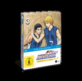 Kuroko's Basketball 3 (Season 3) - Vol. 3 - Limited Steelcase Edition (mit exklusiven Extras)