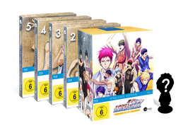 Kuroko's Basketball - Season 3 - Volume 1-5 (Vorbesteller-Angebot)