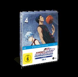 Kuroko's Basketball - Vol. 4 - Limited Steelcase Edition (mit PANINI-Sammelkarten und Acrylfigur)