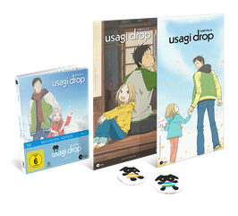 Usagi Drop - Vol. 2 - Limited Mediabook Edition (mit Maxi-Poster und 2 Stickern)