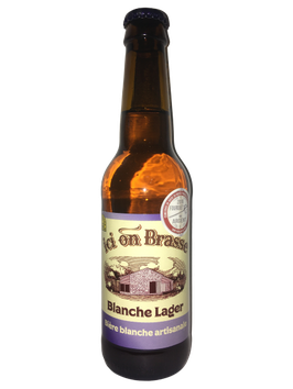 Ici on brasse - Blanche Lager - 33cl