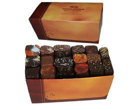 Ballotin bonbons chocolat assortis Noir et Lait