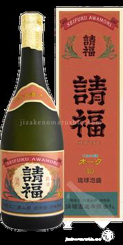 請福オーク樽 10年古酒(クース) 720ml