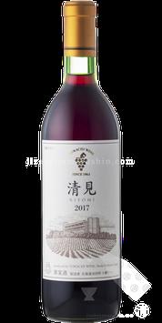 十勝ワイン 清見 赤 フレンチオーク樽1年熟成