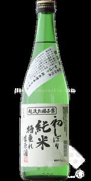 お福正宗 初しぼり 純米 槽垂れ生原酒