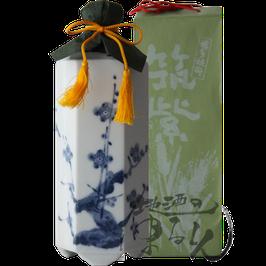 六角壷 筑紫(つくし) 麦焼酎 35度720ml