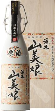山美娘(やまびこ)原酒 磨き芋 白麹和甕仕込37度