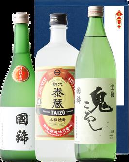【限定流通】国稀 日本酒と焼酎ギフトset