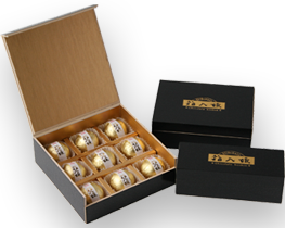 繁桝×カカオロマンス コラボ  箱入娘 大吟醸 チョコレートボンボン
