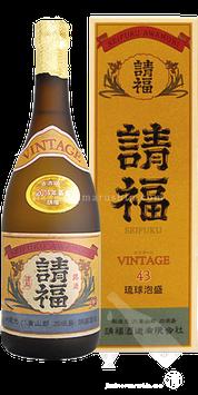 請福ビンテージ43 3年古酒(クース) 720ml