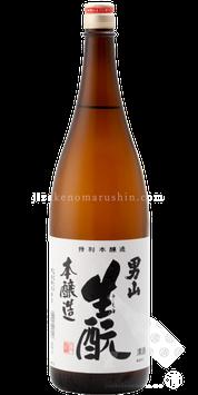 男山 清酒 生もと特別本醸造酒