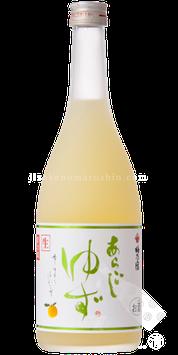 梅乃宿 あらごしクールゆず酒 天然ゆず果汁(四国/九州産)