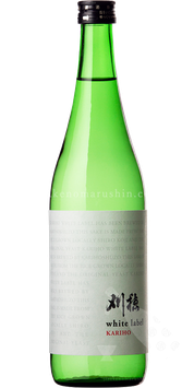 刈穂 純米生酒 white label 白麹【クール便推奨】