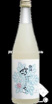 越州 雪げしき 本醸造 薄にごり生酒 720ml 12月限定出荷