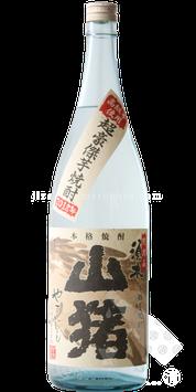 山猪(やまじし)超豪傑芋焼酎 無濾過 25度1.8L