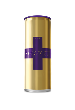 SECCO+ PASSION FRUIT TASTE Can 0.25l
