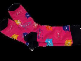 """Socken """" Katzenköpfe"""""""