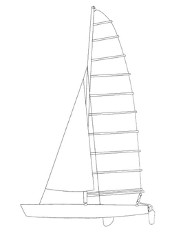Prindle 19 Performance Mainsail