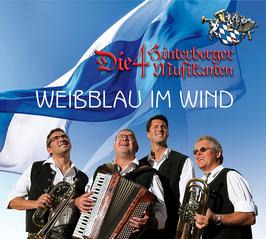 Weißblau im Wind