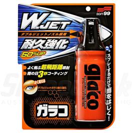 Soft99 Glaco W-Jet Strong unsichtbare Scheibenwischer - 180ml