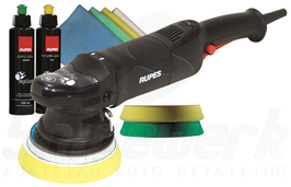 Rupes BigFoot LHR 15 Mark II Exzenter Poliermaschine, Standard Kit