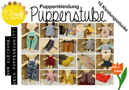 E-Book Puppenstube Puppenkleidung OHNE Puppe