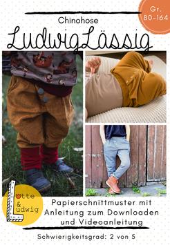 Papierschnittmuster Ludwig Lässig