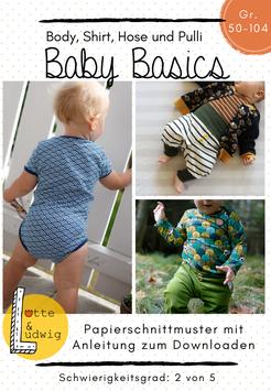 Papierschnittmuster Baby Basics