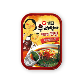 Pickled sesame leaves spicy 70g