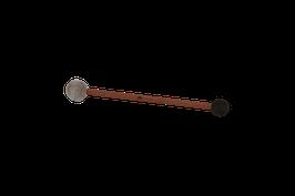 Doppelschlägel - Filz- und Gummikopf - Small