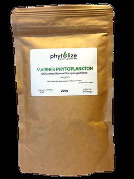 Phytolize Marine Phytoplankton Kapseln