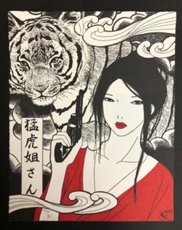 YUMIKO KAYUKAWA - Sister Tigress