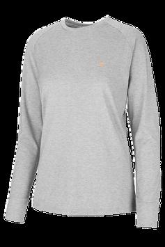 Genki-Vital, Theta Damen Langarm Shirt melange