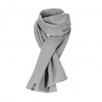 Einsteck Schal Grau Melange
