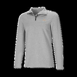 Genki Vital, Ypsilon Langarmshirt mit Stehkragen und Reissverschluss